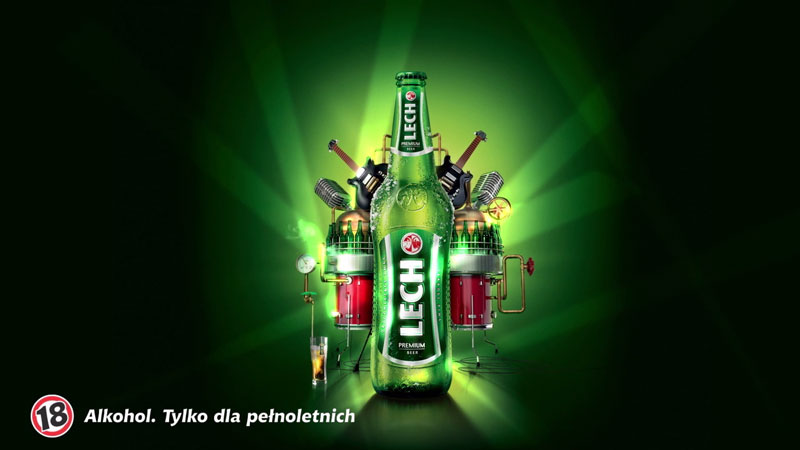 Lech Premium – Animacja główna